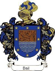 Escudo del apellido Bail
