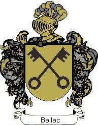 Escudo del apellido Bailac