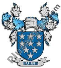 Escudo del apellido Baillie