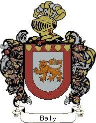 Escudo del apellido Bailly