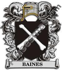 Escudo del apellido Baines