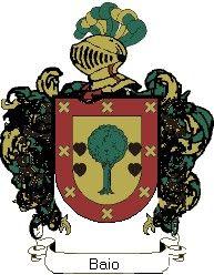 Escudo del apellido Baio