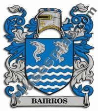 Escudo del apellido Bairros