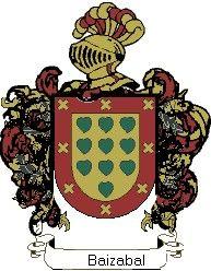 Escudo del apellido Baizabal