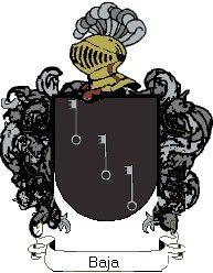 Escudo del apellido Baja