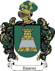 Escudo del apellido Bajeras