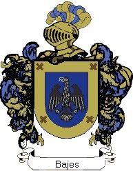 Escudo del apellido Bajes