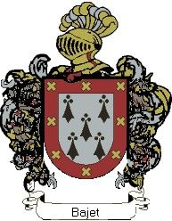 Escudo del apellido Bajet