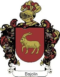 Escudo del apellido Bajolin