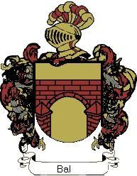 Escudo del apellido Bal