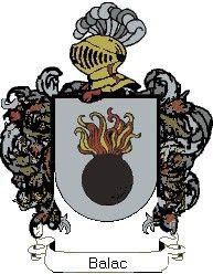 Escudo del apellido Balac