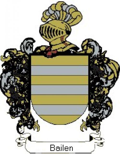 Escudo del apellido Bailen