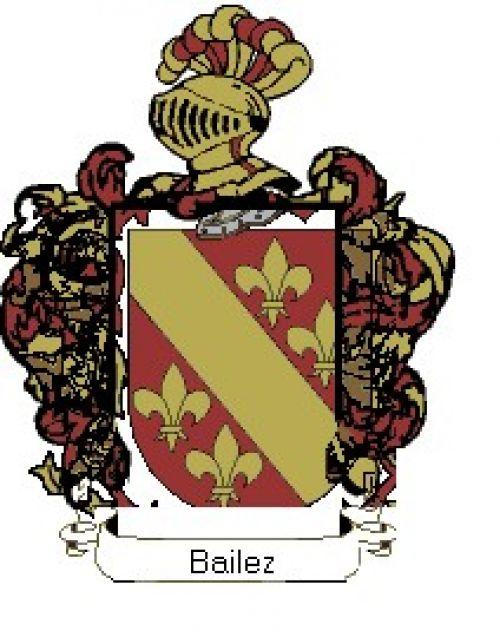 Escudo del apellido Bailez