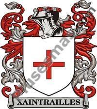 Escudo del apellido Xaintrailles