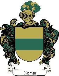 Escudo del apellido Xamer