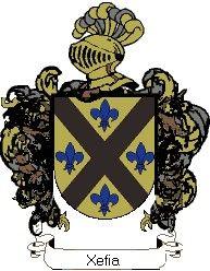 Escudo del apellido Xefia