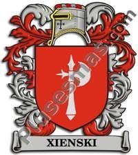 Escudo del apellido Xienski