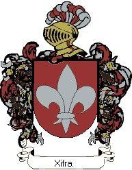 Escudo del apellido Xifra