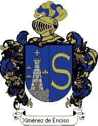Escudo del apellido Ximénez de enciso
