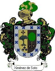 Escudo del apellido Ximénez de soto