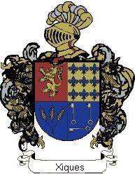 Escudo del apellido Xiques