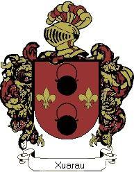 Escudo del apellido Xuarau