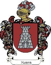 Escudo del apellido Xuarra