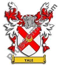 Escudo del apellido Yale