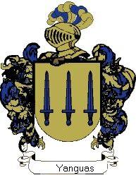 Escudo del apellido Yanguas