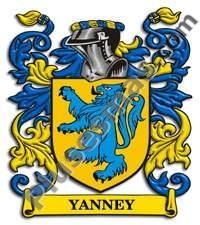 Escudo del apellido Yanney