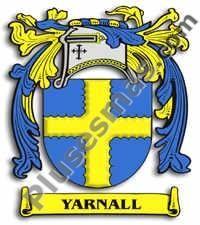 Escudo del apellido Yarnall