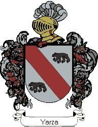 Escudo del apellido Yarza