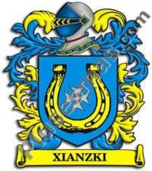 Escudo del apellido Xianzki