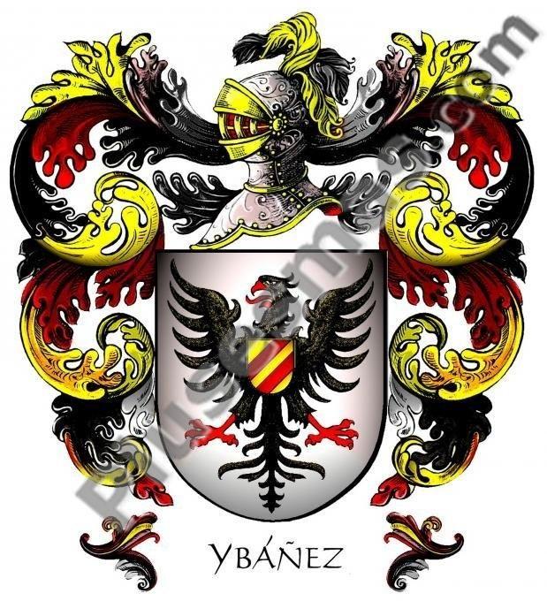 Escudo del apellido Ybáñez