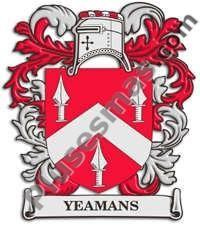 Escudo del apellido Yeamans