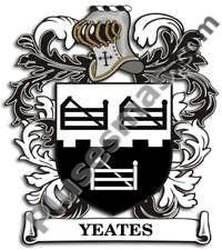 Escudo del apellido Yeates