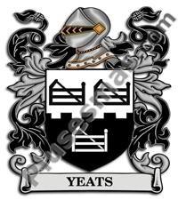 Escudo del apellido Yeats