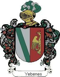Escudo del apellido Yebenes