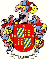 Escudo del apellido Yebra