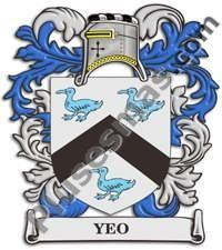 Escudo del apellido Yeo