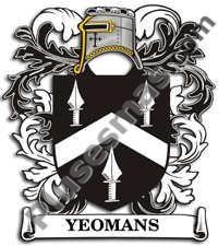 Escudo del apellido Yeomans