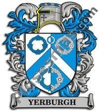 Escudo del apellido Yerburgh