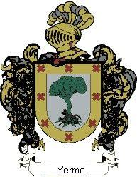 Escudo del apellido Yermo