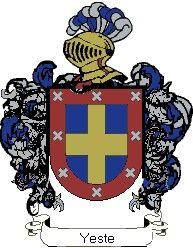 Escudo del apellido Yeste