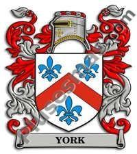 Escudo del apellido York