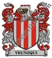 Escudo del apellido Yrunzqui