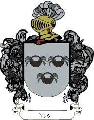 Escudo del apellido Yus