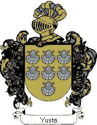 Escudo del apellido Yusta