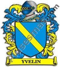 Escudo del apellido Yvelin