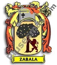 Escudo del apellido Zabala